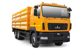 МАЗ 6501С9-8526-000 Зерновоз, платформа 33м3, г / п 19т.